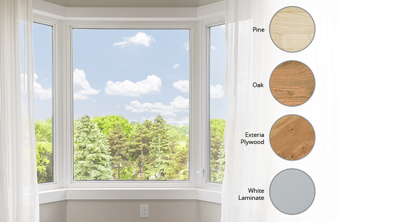 Bay Windows | interior options | Weaver Exterior Remodeling Barrie