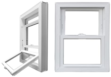 Single Hung Windows | windows top cropped | Weaver Exterior Remodeling Barrie