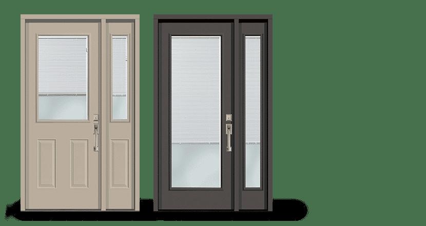 Entry Doors | Door weaver serviceimagesMiniblinds 1 | Weaver Exterior Remodeling Barrie