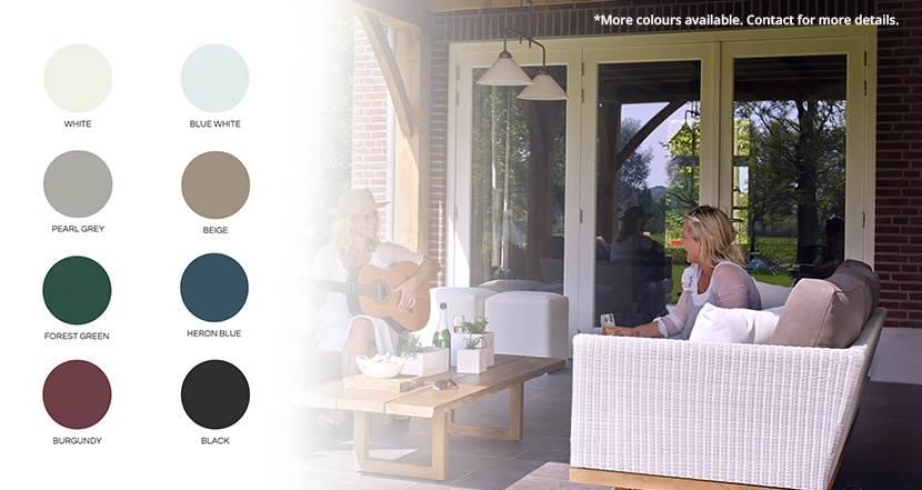 Patio Doors & Garden Doors | garden colours | Weaver Exterior Remodeling Barrie