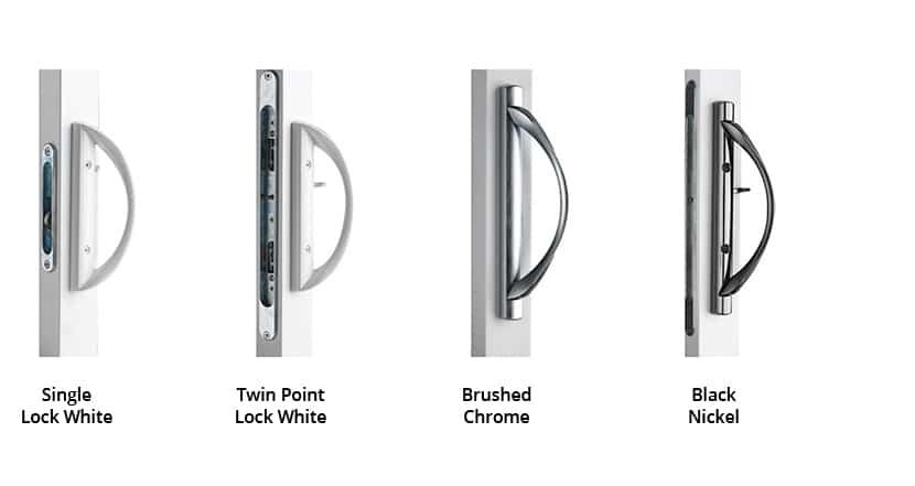 Patio Doors & Garden Doors | patio hardware 1 | Weaver Exterior Remodeling Barrie