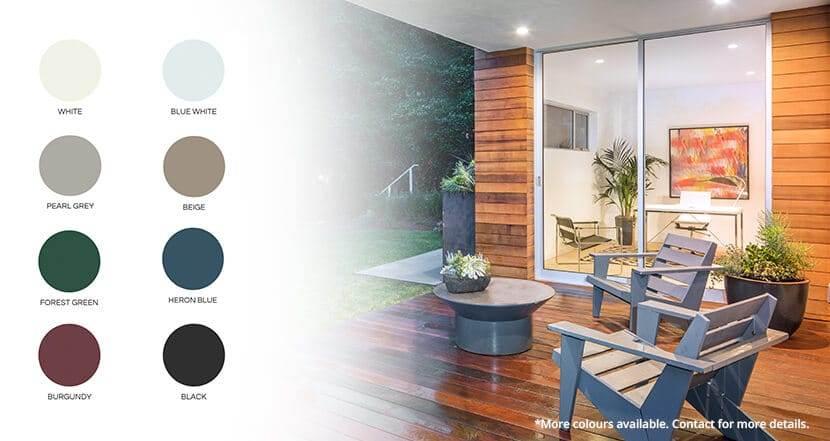 Sliding Doors | sliding colours | Weaver Exterior Remodeling Barrie