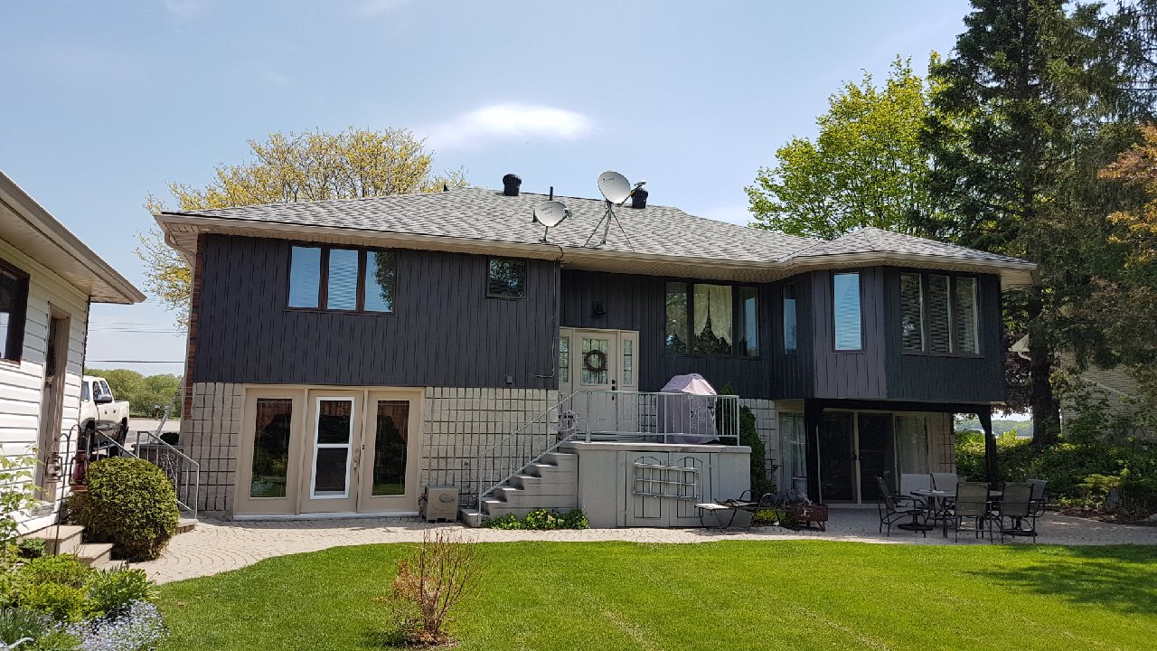 Sleek Siding Transformation | 20180525 120048 | Weaver Exterior Remodeling Barrie