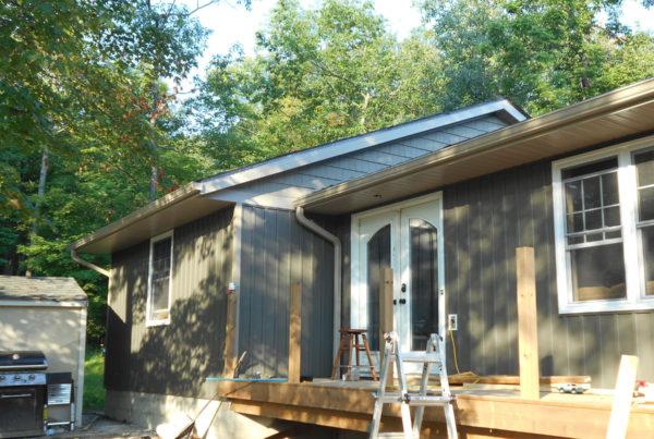 Stylish Modern Grey Siding Upgrade | Weaver 16B remodel 1 | Weaver Exterior Remodeling Barrie