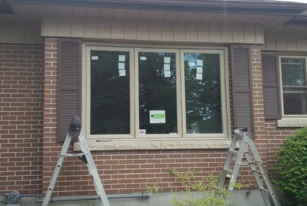 Photo of newly replaced casement window