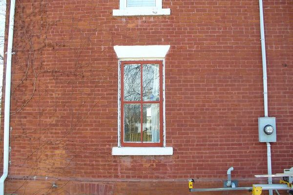 Photo of pre-existing window