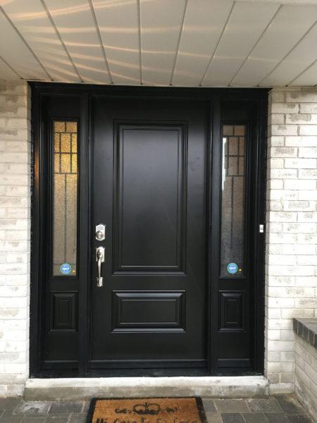 Photo of Weaver door installation