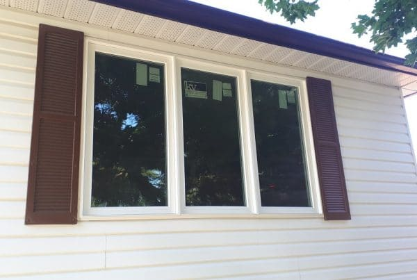 A Top to Bottom Window Upgrade | After Front Living Room | Weaver Exterior Remodeling Barrie