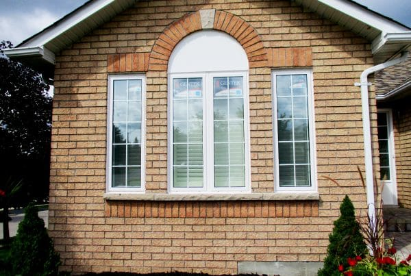 Intricate Indiana Limestone Repair | jan31 after | Weaver Exterior Remodeling Barrie