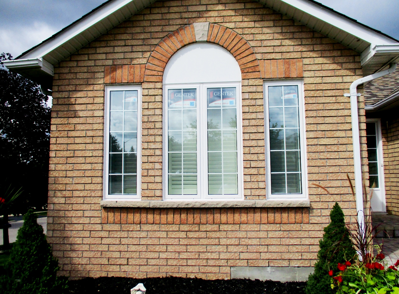 Intricate Indiana Limestone Repair | jan31 after | Weaver Exterior Remodeling Barrie