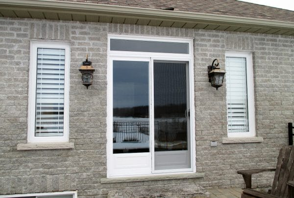 Decorative Patio Door & Transom Installation | patiodoor resized | Weaver Exterior Remodeling Barrie