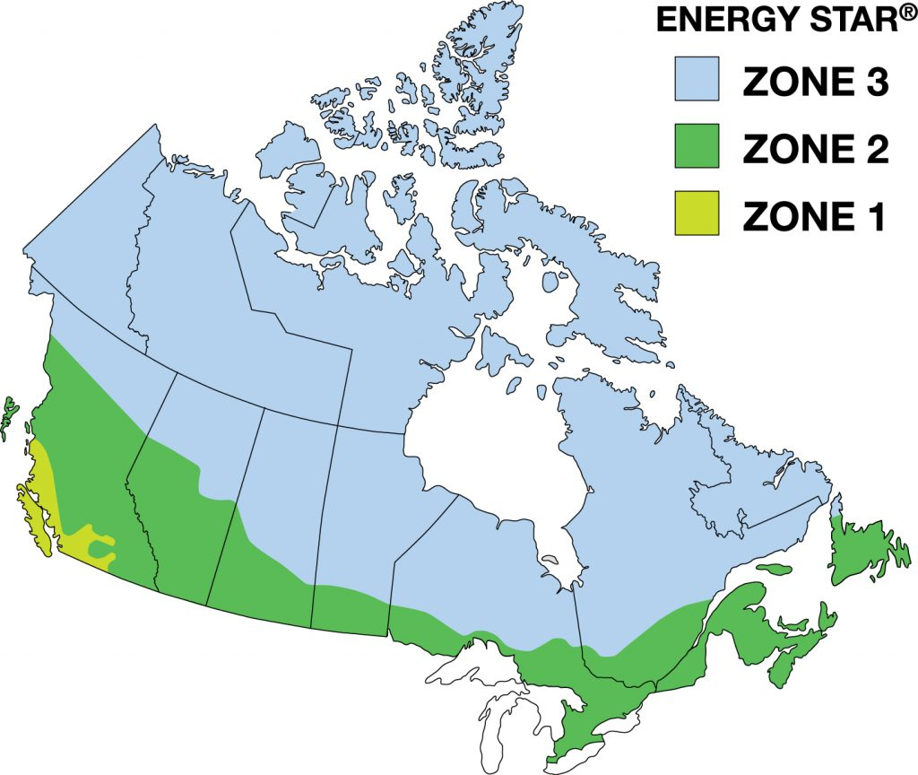 energy efficient climate zones - energy efficient windows and doors - Weaver Exterior Barrie