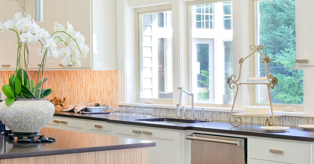 image of casement window in kitchen