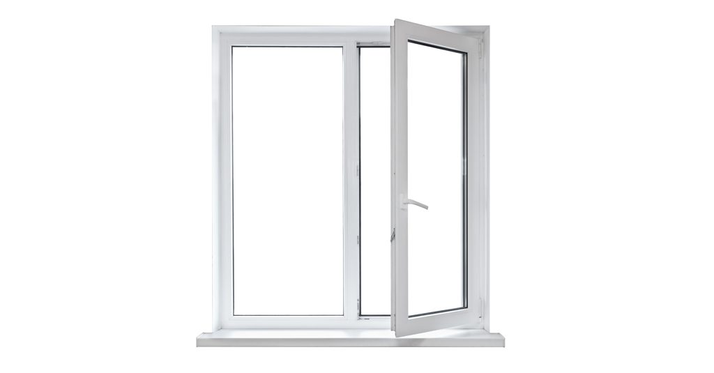 image of open casement window