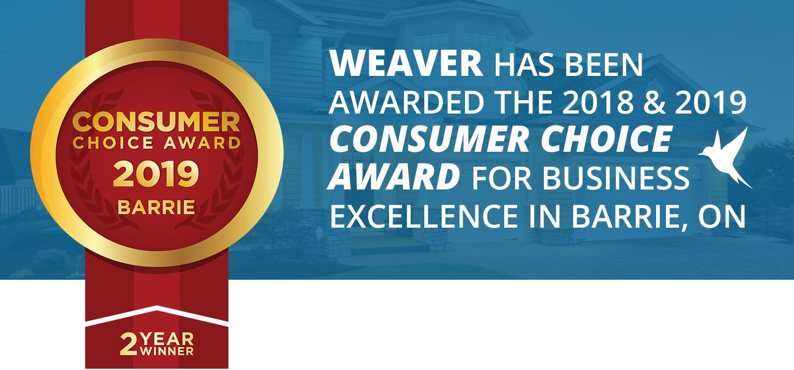 Bradford Windows | weaver consumer choice 2019 M | Weaver Exterior Remodeling Barrie