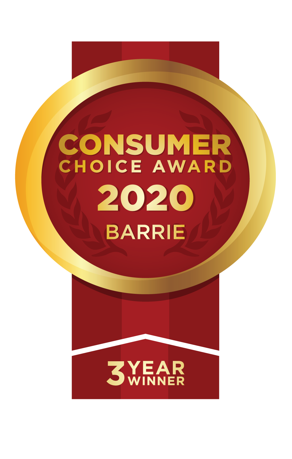 Best Window Company Consumer Choice Award & Barrie Chamber of Commerce