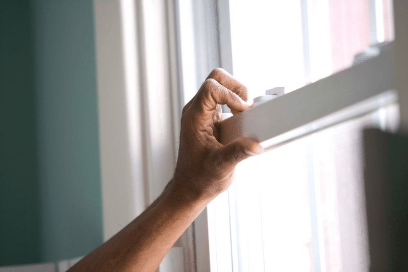 window inspection - summer home maintenance