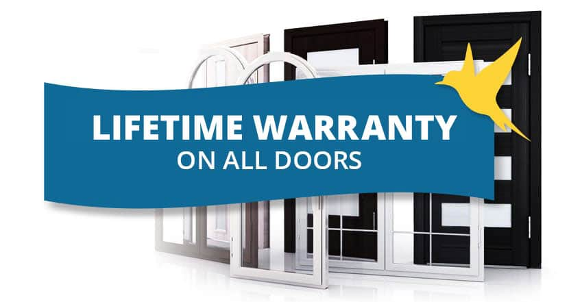 Door Warranty - Lifetime Warranty on all doors - Weaver Exterior Remodeling