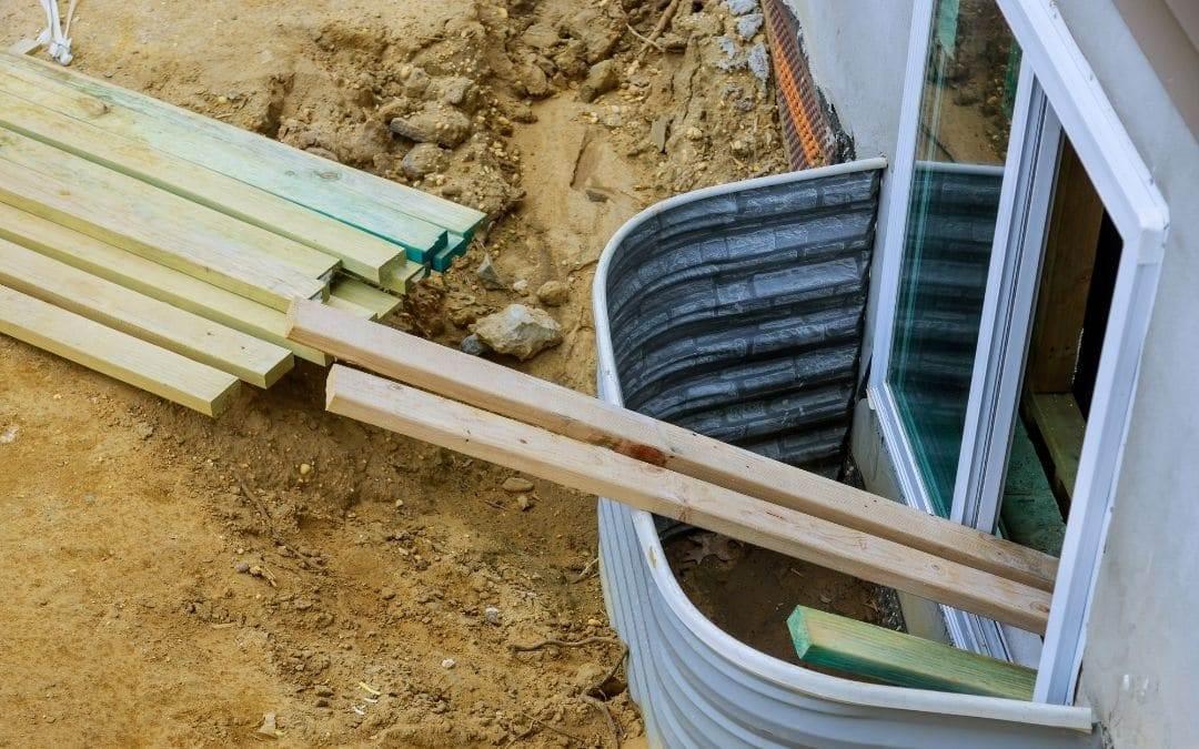 Converting Basement Windows to Egress - Weaver Exterior