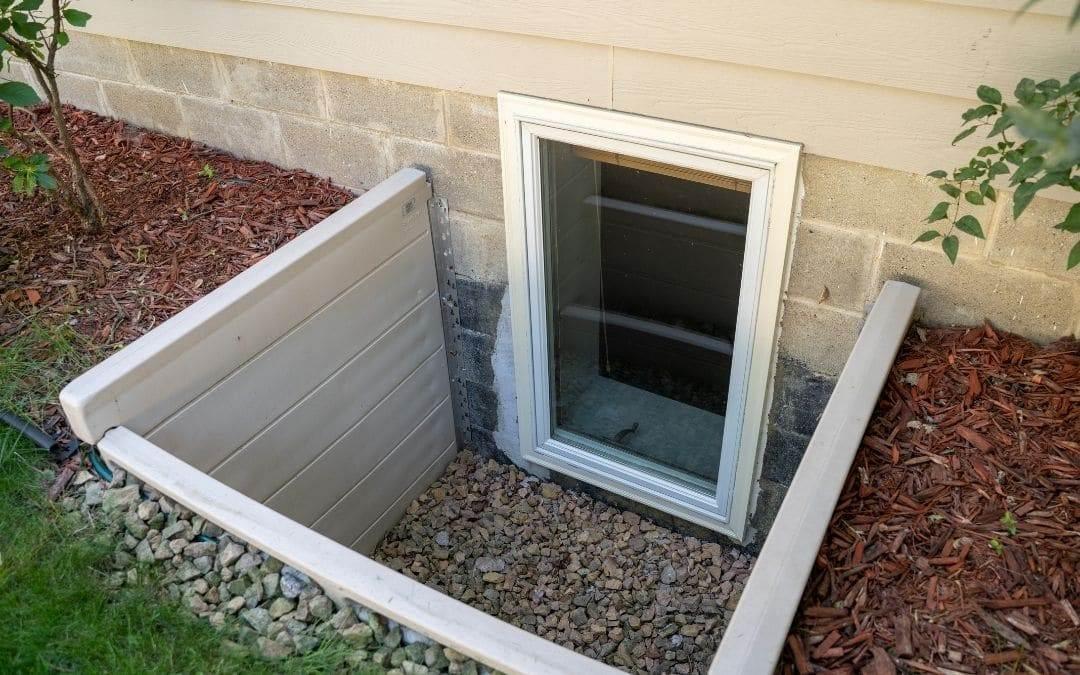 Egress Windows for Basements - Weaver Exterior