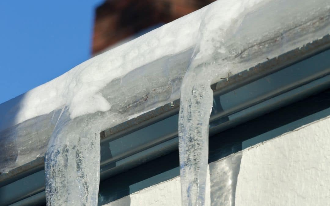 Ice Dams - Protect Eavestroughs From Cold Weather Damage - Weaver Exterior