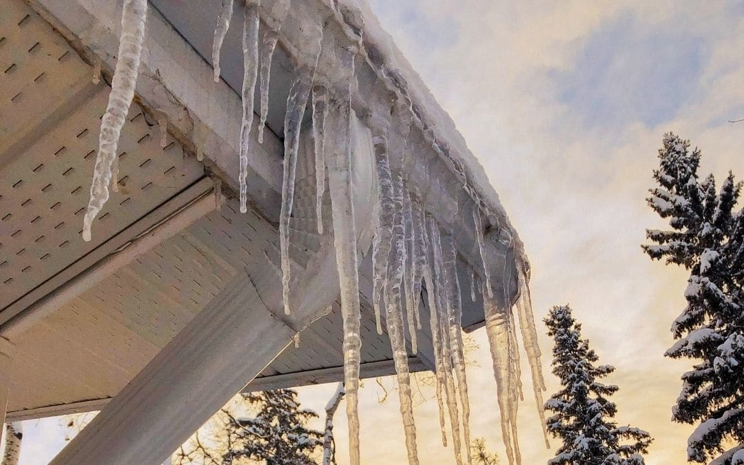 Protect Your Eavestrough Against Cold Weather Damage - Weaver Exterior
